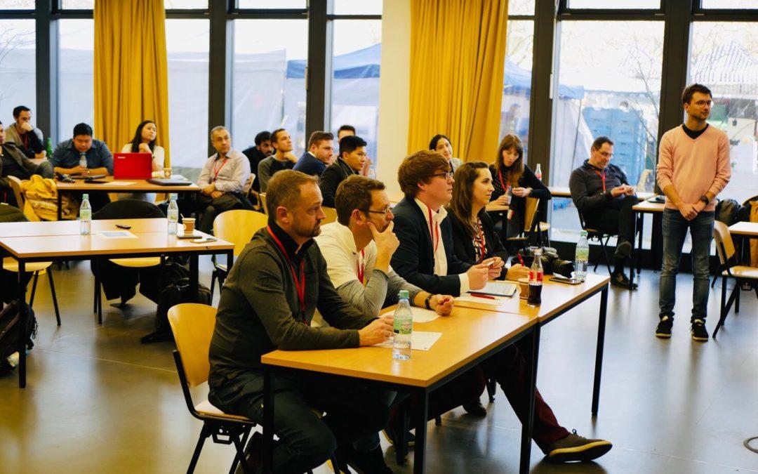 """Mitglied der Jury beim CGI Hackathon 2019: """"Digitalisierung in Non-Profit Organisationen"""""""