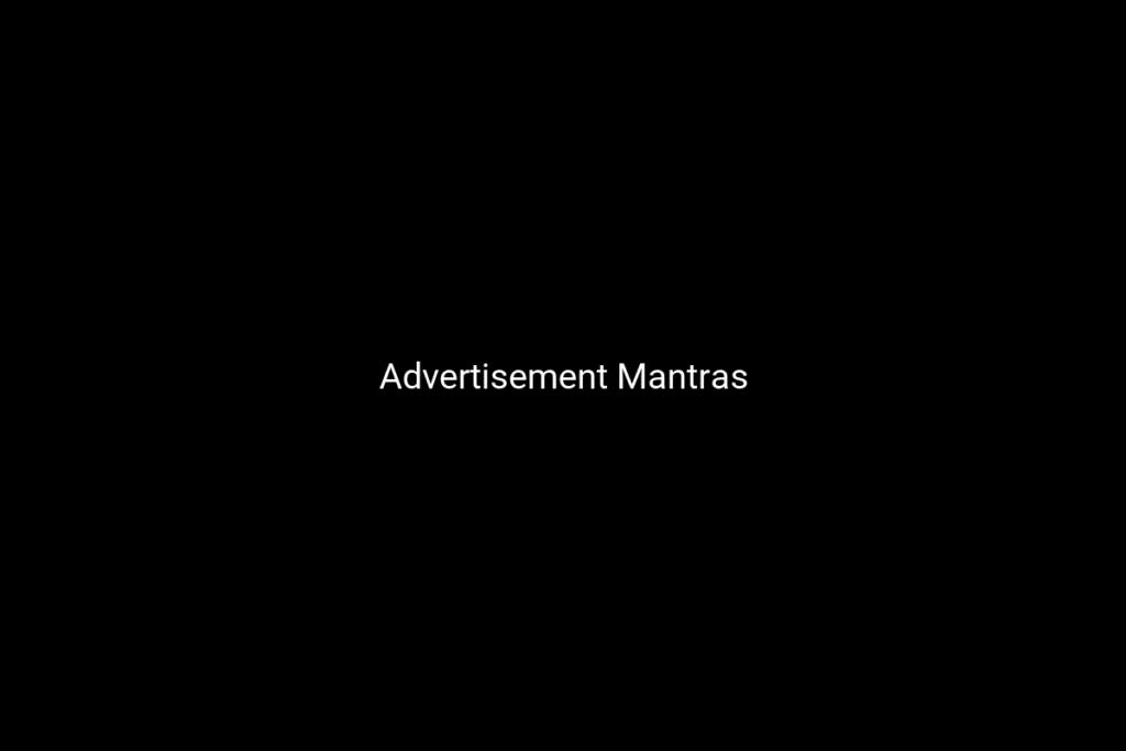Advertisement Mantras
