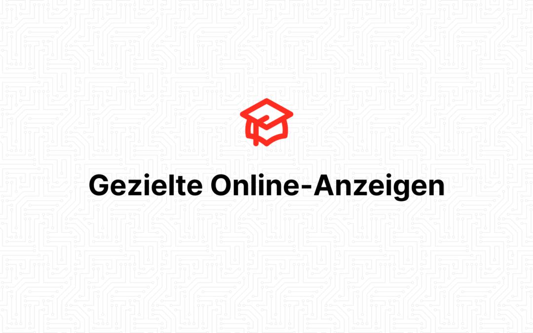 Gezielte Online-Anzeigen
