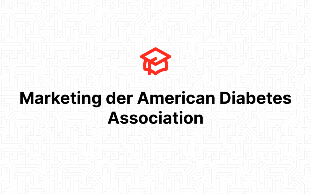 Marketing der American Diabetes Association