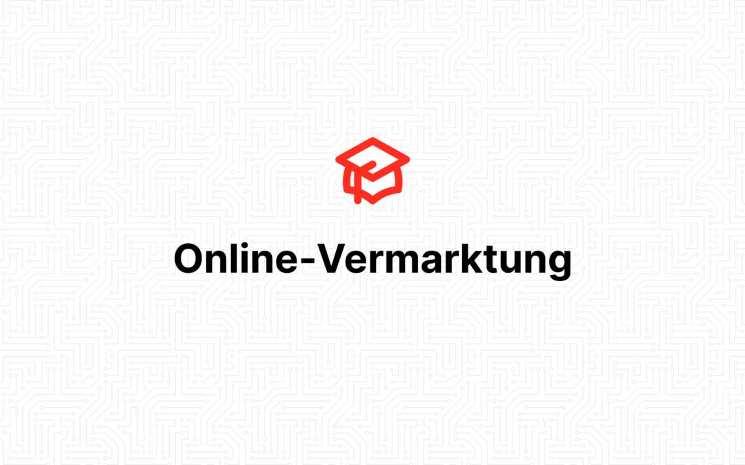Online-Vermarktung